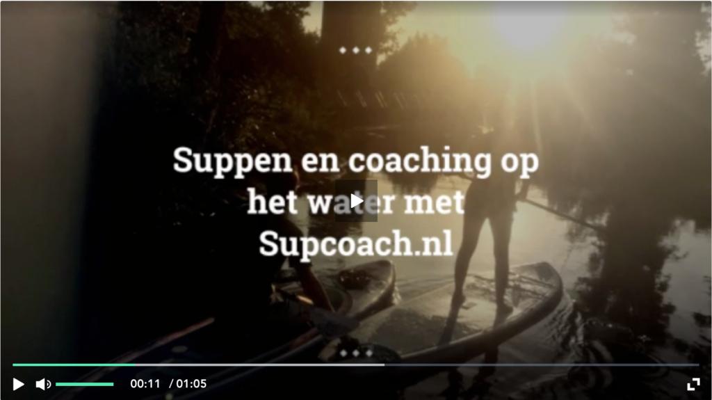 Suppen en coaching op het water met Supcoach.nl